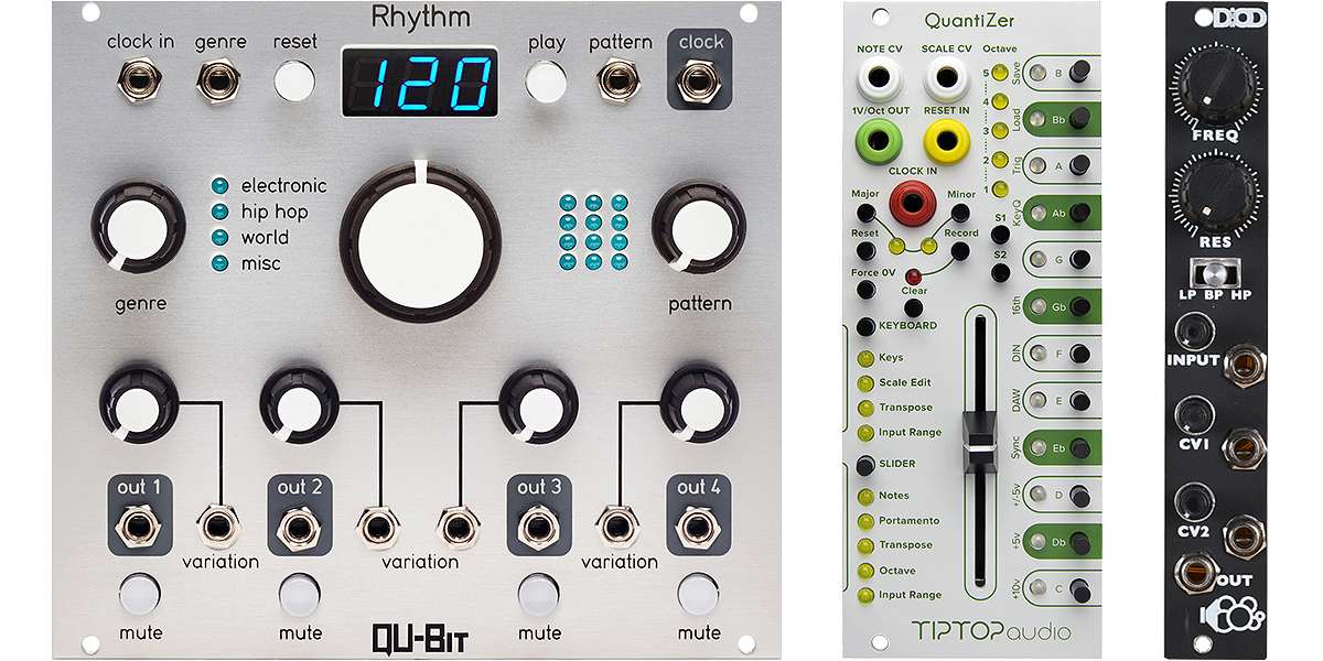 Eurorack Modules Oct/ Nov 2016