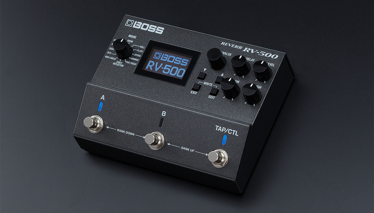 News - BOSS RV-500 - for creating any sound atmosphere
