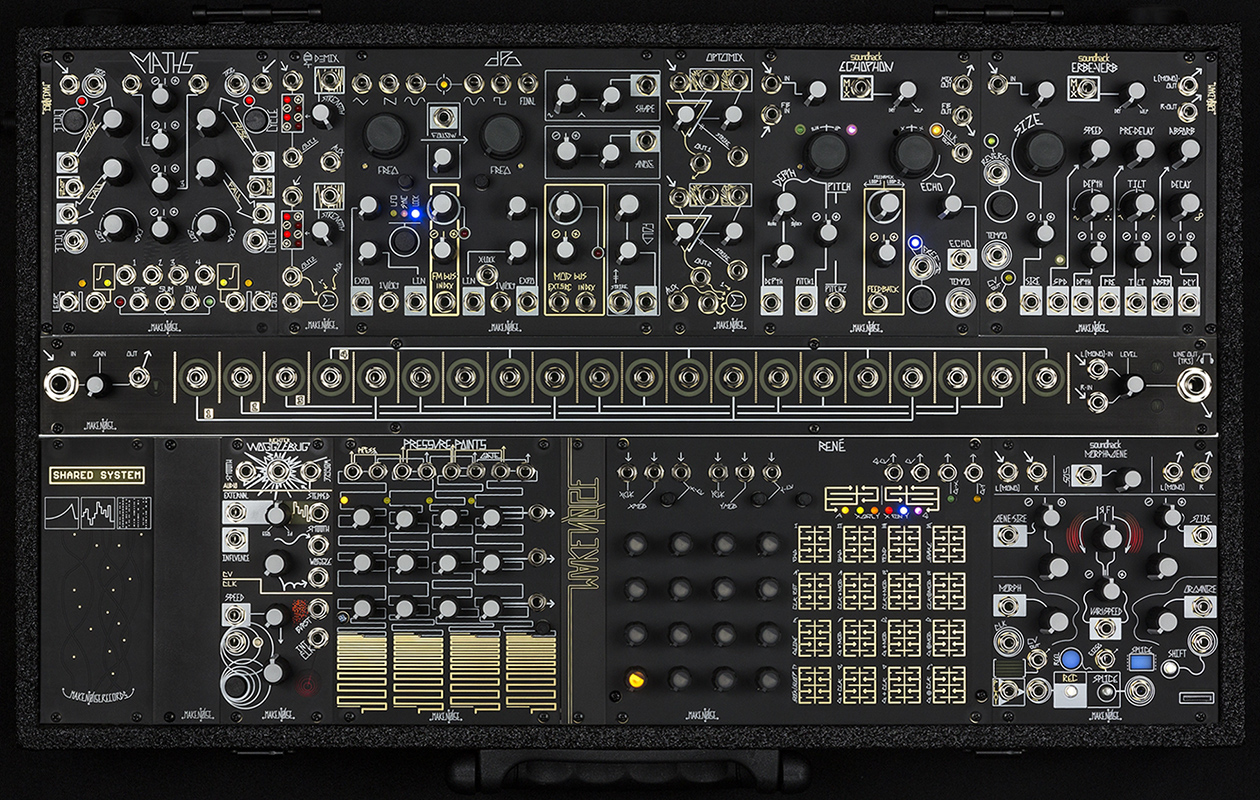 Black & Gold Shared System by Make Noise