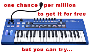 Novation Ultranova for free