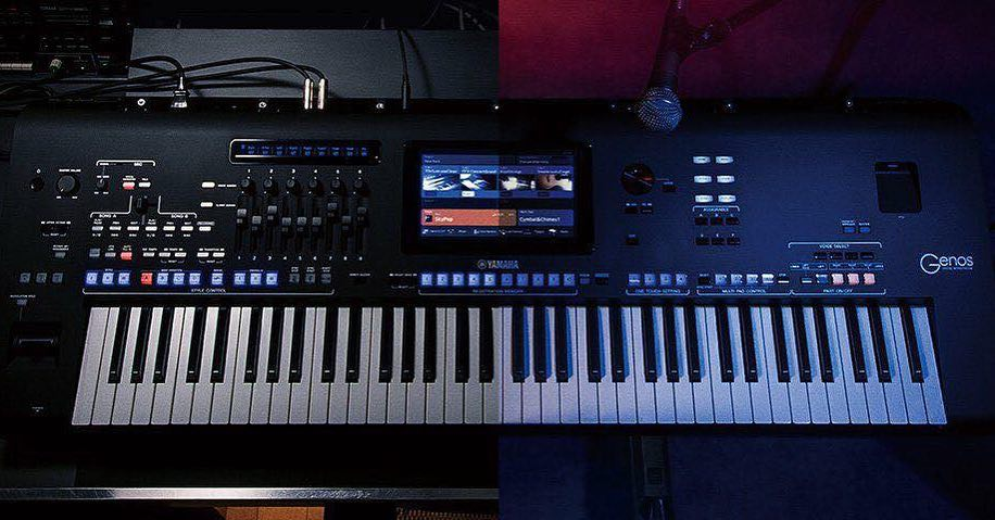 yamaha genos arranger arranger workstation