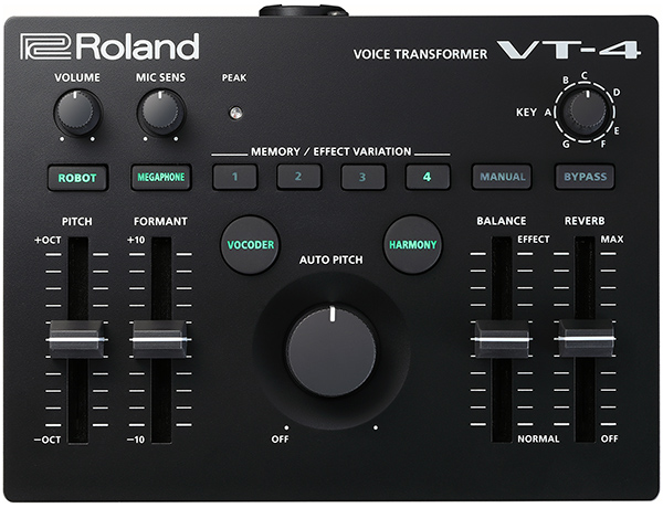 News - New Roland VT-4 vocal effect processor is coming on sale soon