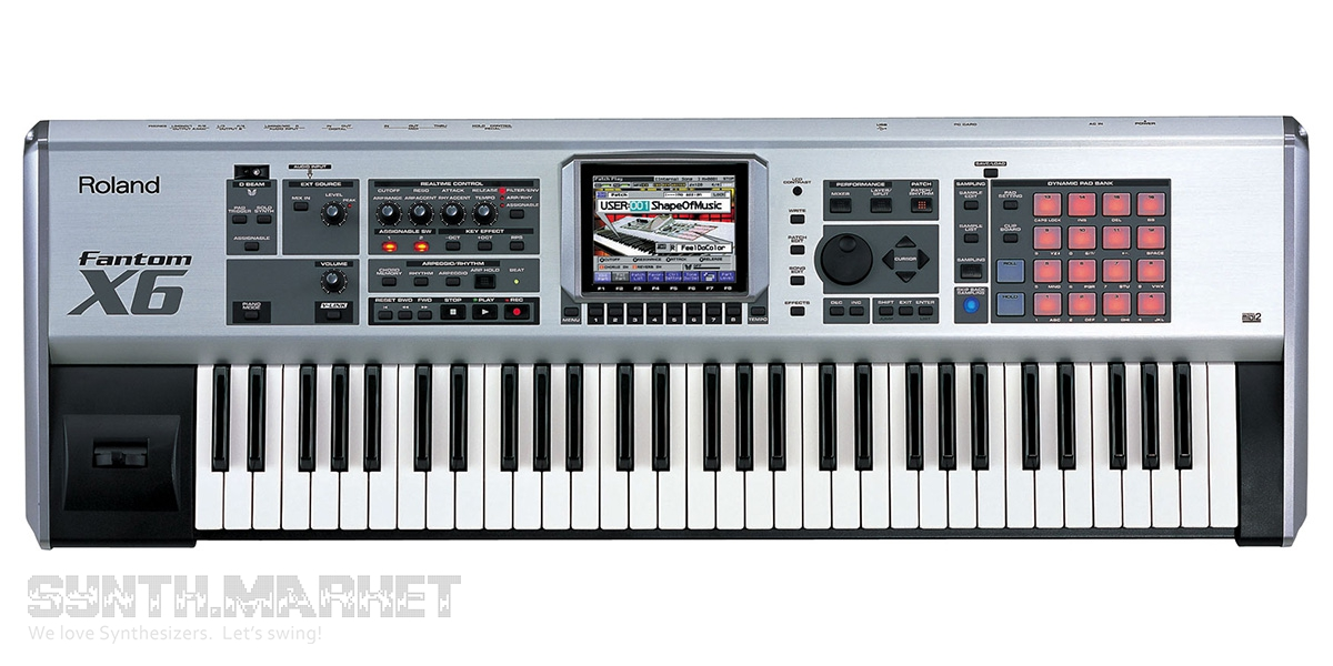 ROLAND FANTOM X6 USB WINDOWS 7 DRIVER