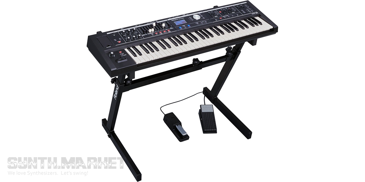News - Roland features new performance keyboards: V-Combo VR
