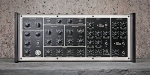 *Custom made synths Polyvox