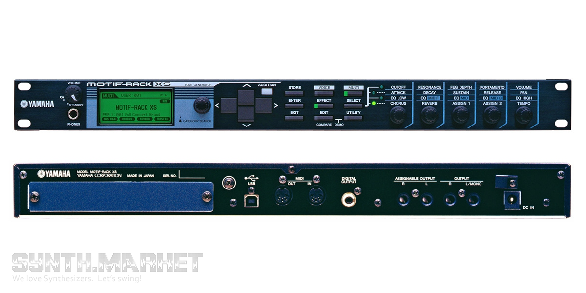 YAMAHA MOTIF RACK XS WINDOWS DRIVER DOWNLOAD