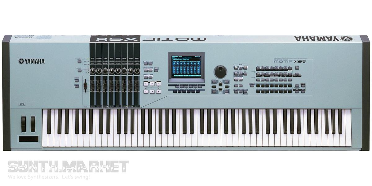Yamaha motif xs8 workstation for Yamaha motif xs8 specs